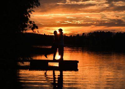 Hyvänolon iltamat Kivijärven rannalla