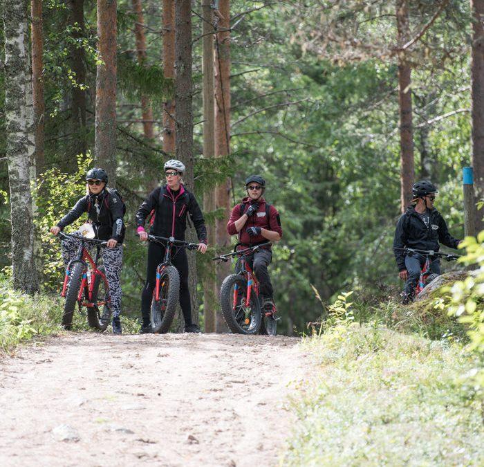 Suomen luonnon päivän fatbike-retki Salamajärven kansallispuistossa 31.8.19 klo 12.00